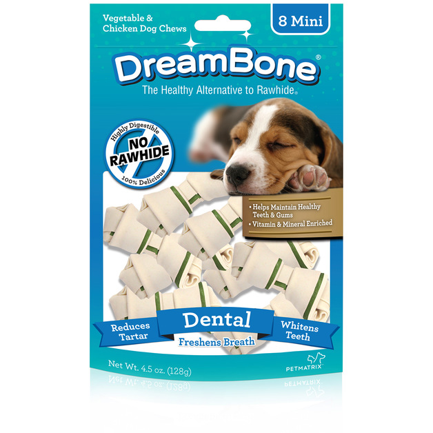 Dreambone Dog Treats 8's Mini Dental 128g