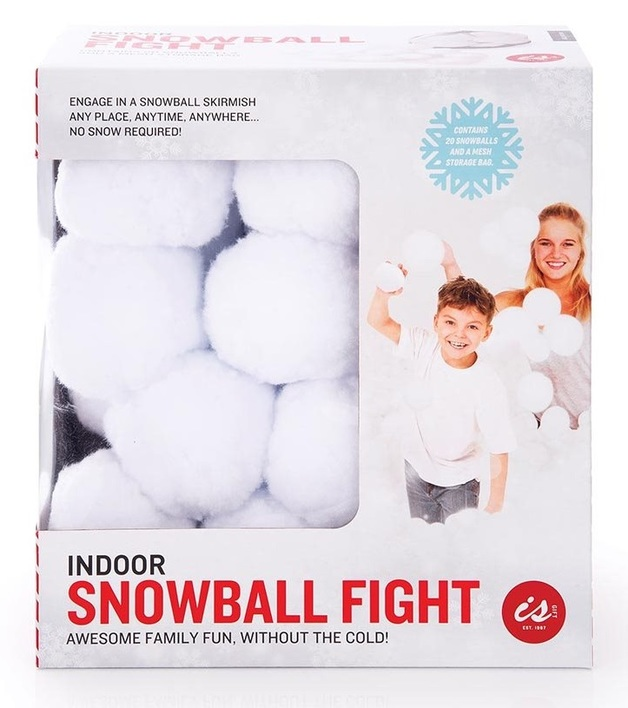 IS Gift: Indoor Snowball Fight - Set of 20