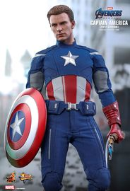 "Avengers: Endgame - Captain America (2012 ver.) - 12"" Articulated Figure"