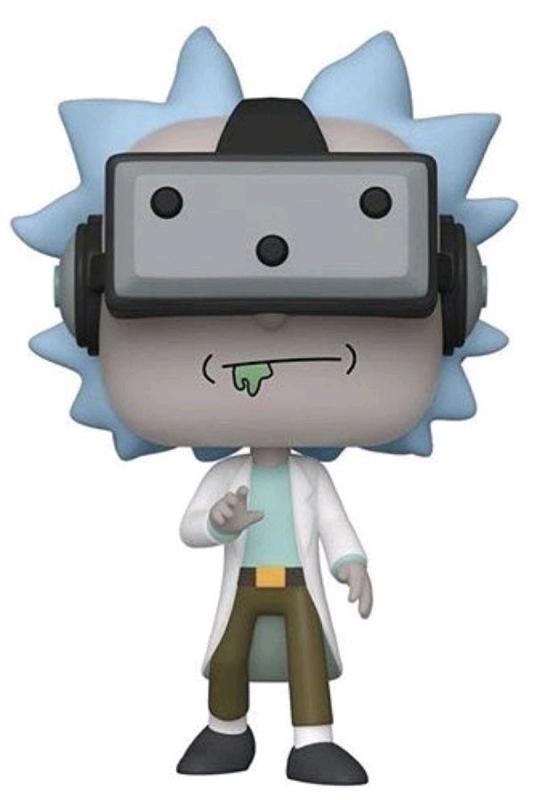 Rick & Morty - Rick (with VR Goggles) Pop! Vinyl Figure