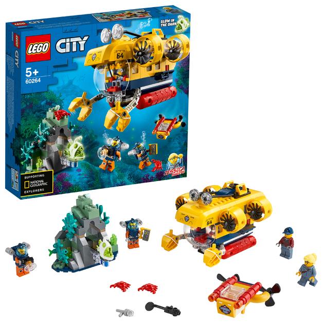 LEGO City: Ocean Exploration Submarine - (60264)