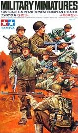 Tamiya US Infantry Western European Theatre 1:35 Model Kit