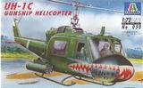 Italeri UH-1C Gunship Helicopter 1:72 Model Kit