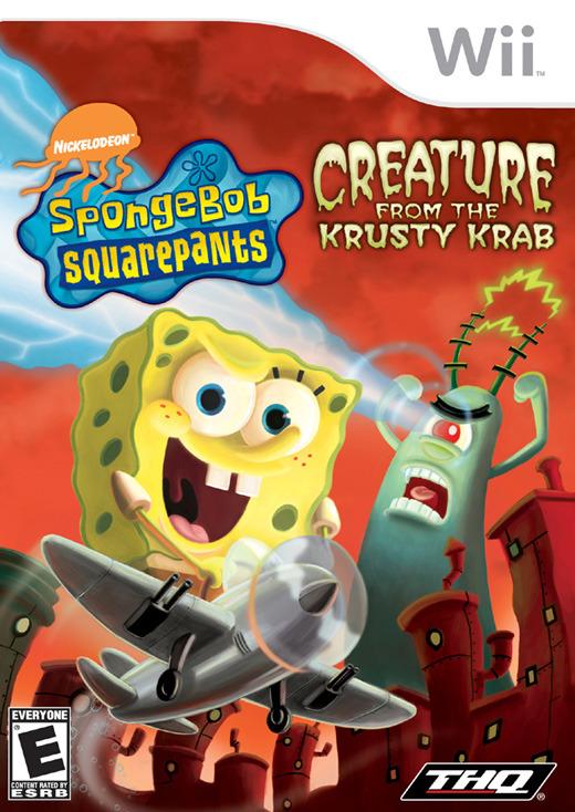 SpongeBob Squarepants: Creature from the Krusty Krab for Nintendo Wii