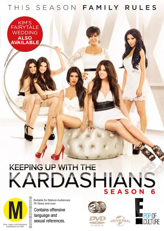 Keeping Up with the Kardashians: Season 6 on DVD