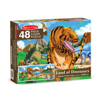 Melissa & Doug: Land of Dinosaurs Floor Puzzle