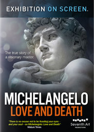 Exhibition On Screen: Michelangelo Love & Death on DVD