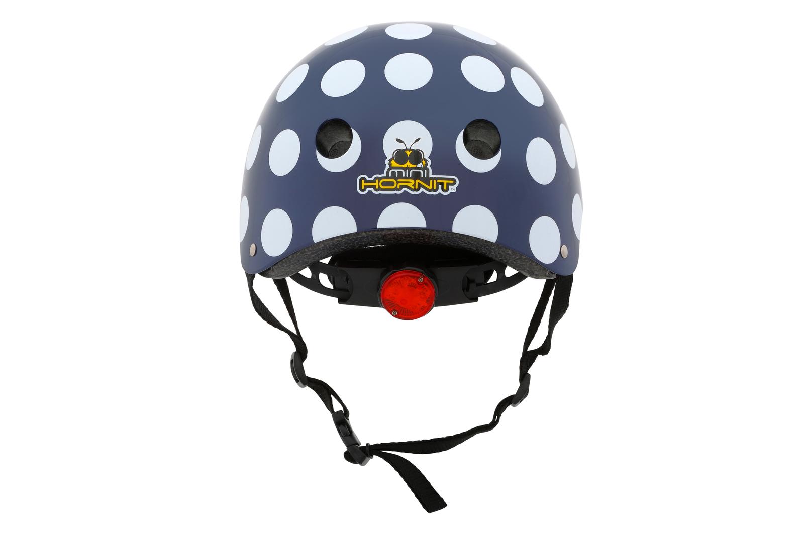 Hornit: Black Polka Dot Bike Helmet - Medium image