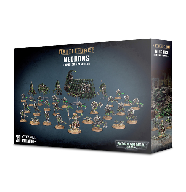 Warhammer 40,000 Necrons Dominion Spearhead