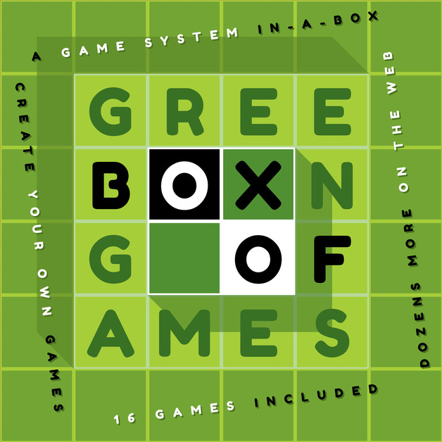 Green Box of Games - Board Game Set