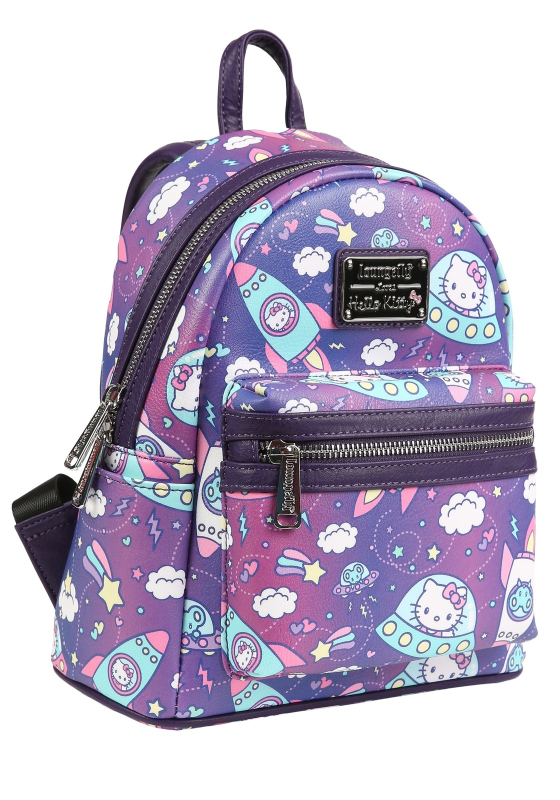 157ca86c9 Loungefly: Hello Kitty - Space Mini Backpack | Women's | at Mighty ...
