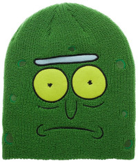 Rick & Morty: Big Face Beanie - Pickle Rick