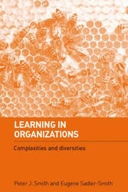 Learning in Organizations by Peter J Smith image