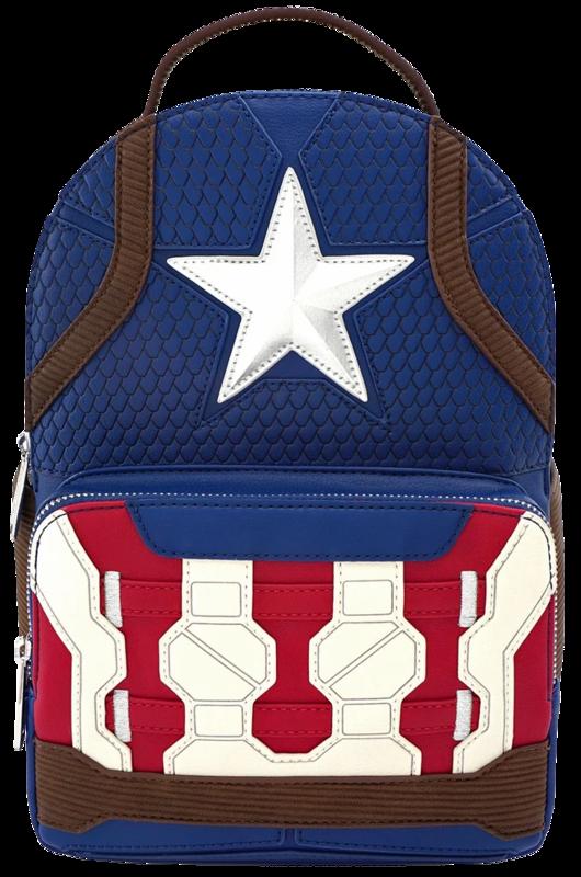 Loungefly: Avengers 4: Endgame - Captain America Costume Mini Backpack