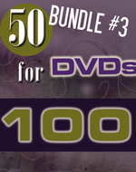Bundle 3 - 50 DVD's While Stocks Last on DVD