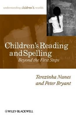 Children's Reading and Spelling by Terezinha Nunes image