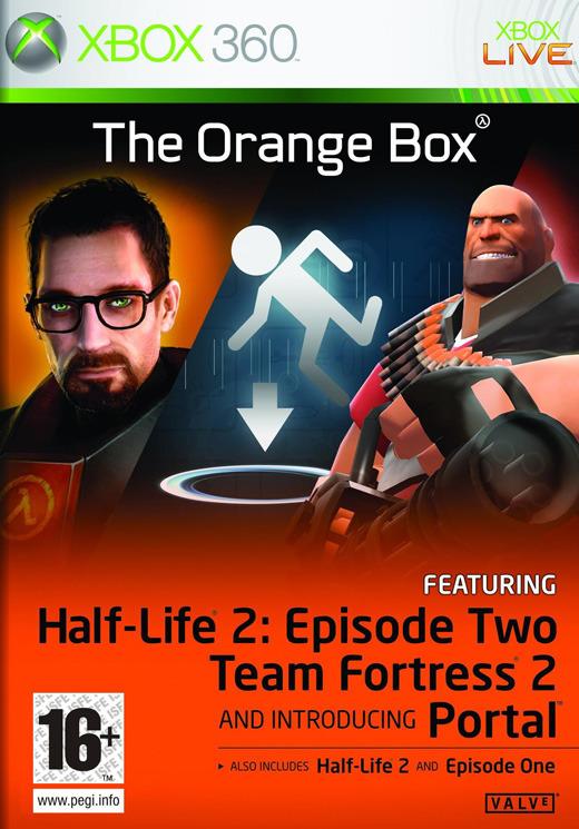 Half-Life 2: The Orange Box for Xbox 360