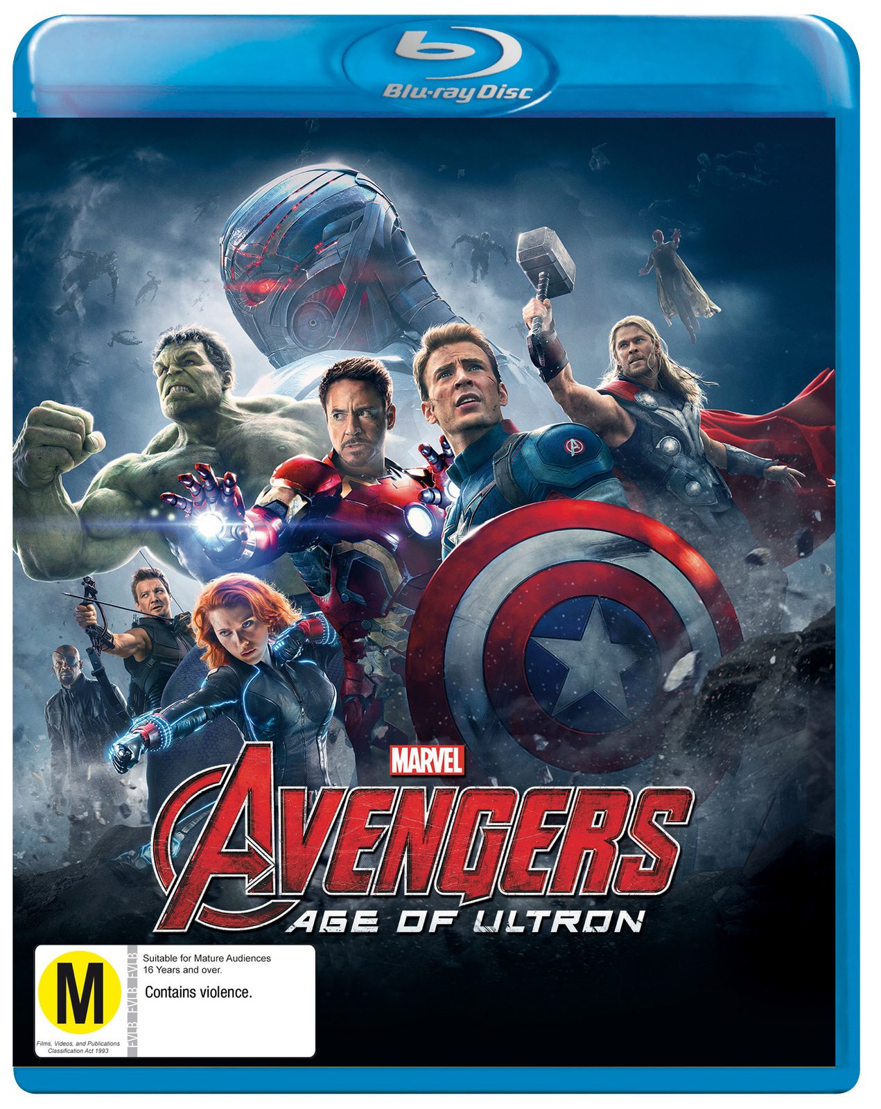 The Avengers: Age of Ultron on Blu-ray image
