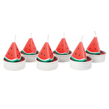 Sunnylife Tea Light Candles - Watermelon (Set of 6)