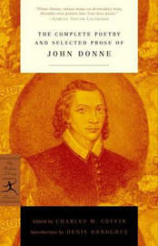 Mod Lib The Complete Poetry & Selected Prose Of John Donne by John Donne image