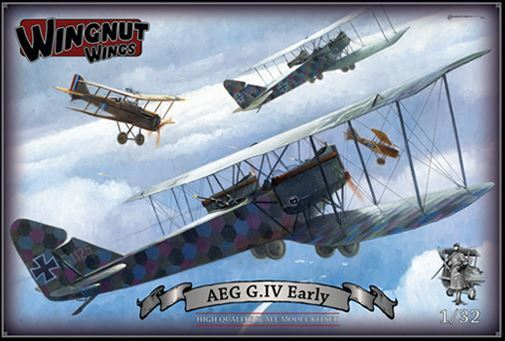 Wingnut Wings 1/32 AEG G.VI Early Model Kit image