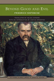 Beyond Good and Evil (Barnes & Noble Library of Essential Reading) by Friedrich Nietzsche
