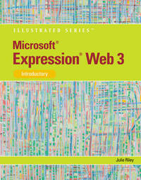 Microsoft Expression Web 3, Introductory by Julie Riley image