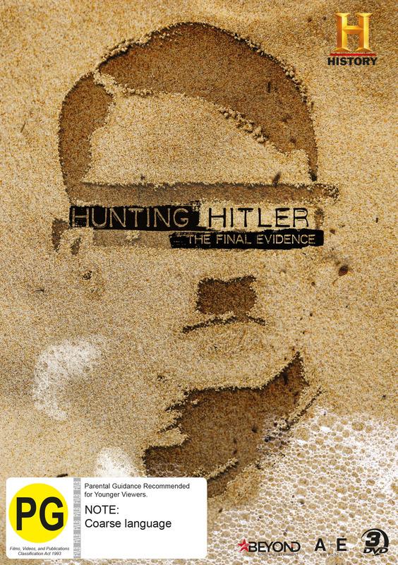 Hunting Hitler: The Final Evidence on DVD