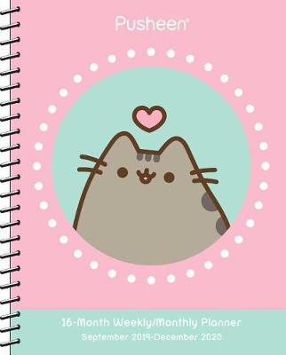 Pusheen 2019-2020 Weekly/Monthly Planner Calendar by Claire Belton