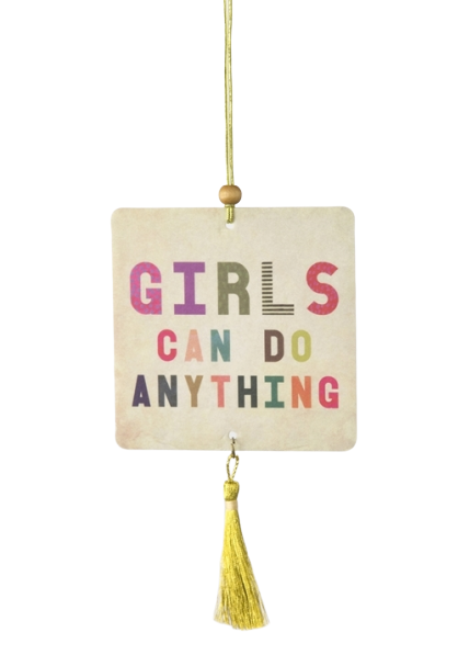 Natural Life: Air Freshener - Girls Can Do Anything (Strawberry Fragrance)