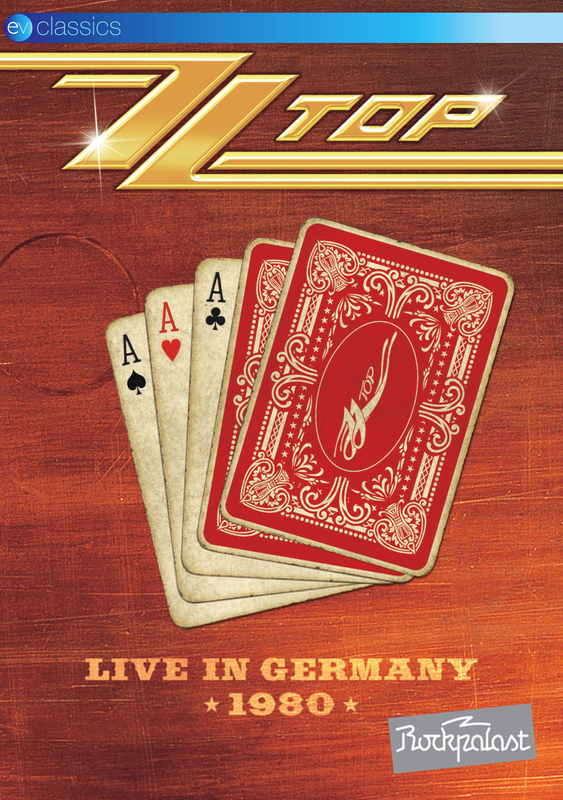 ZZ Top Live in Germany on DVD