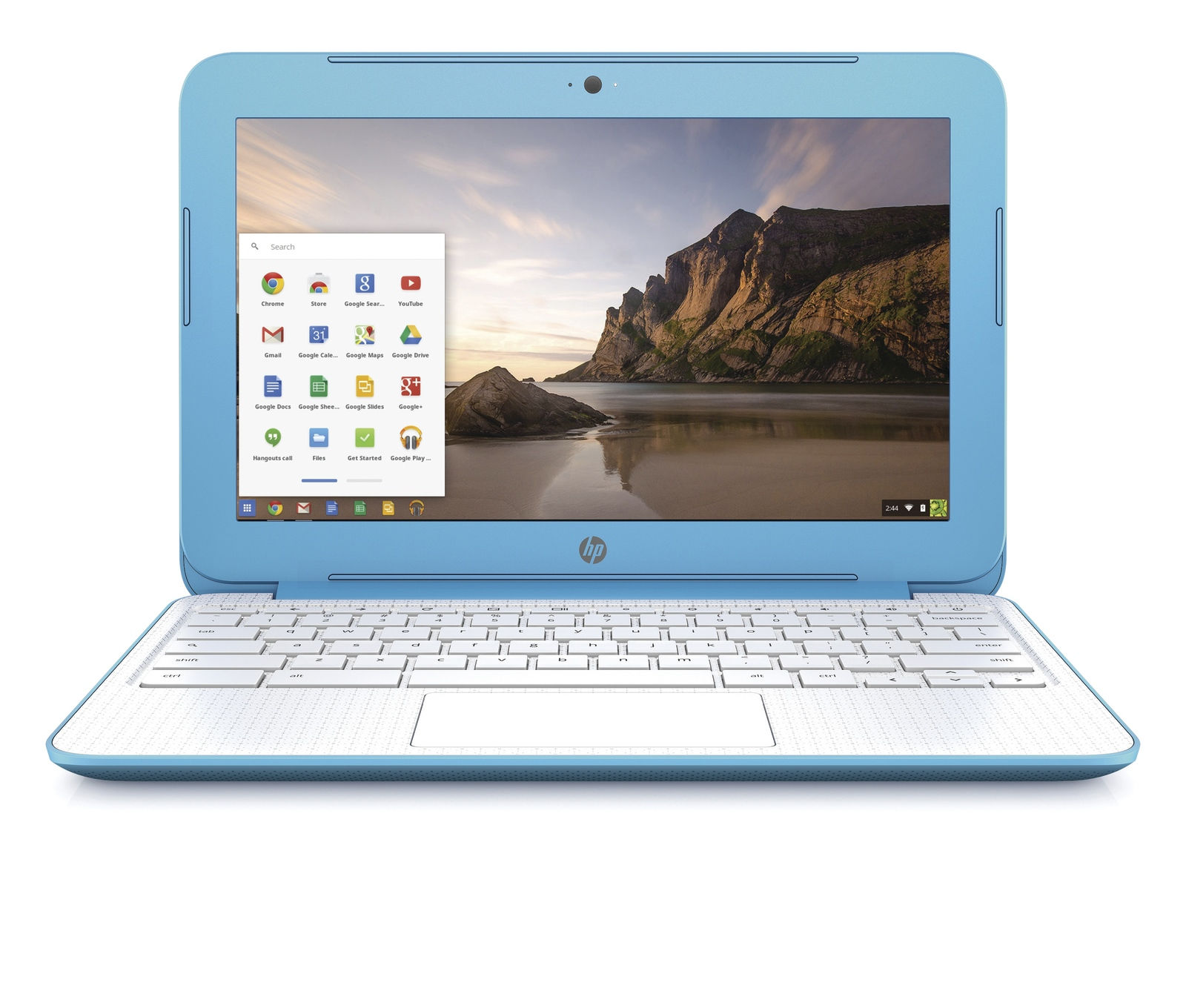 HP Chromebook Laptop - Blue