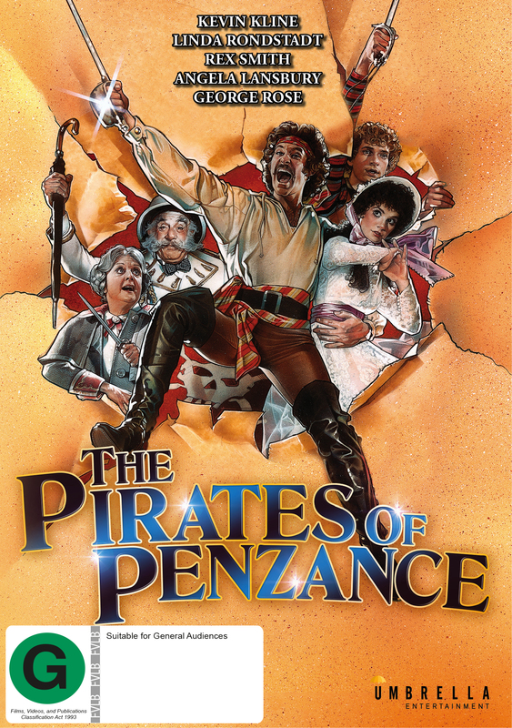The Pirates of Penzance on DVD