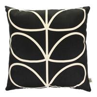 Orla Kiely Giant Linear Stem Cushion Cover - Slate Blue