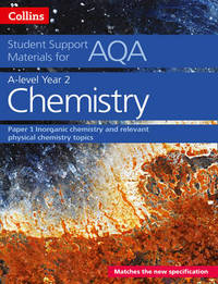 AQA A Level Chemistry Year 2 Paper 1 by Colin Chambers