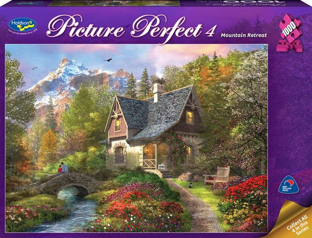 Holdson: Picture Perfect 1000pc Puzzle - Mountain Retreat