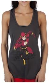 DC Comics: The Flash - Mesh Back Tank-Top (Large)