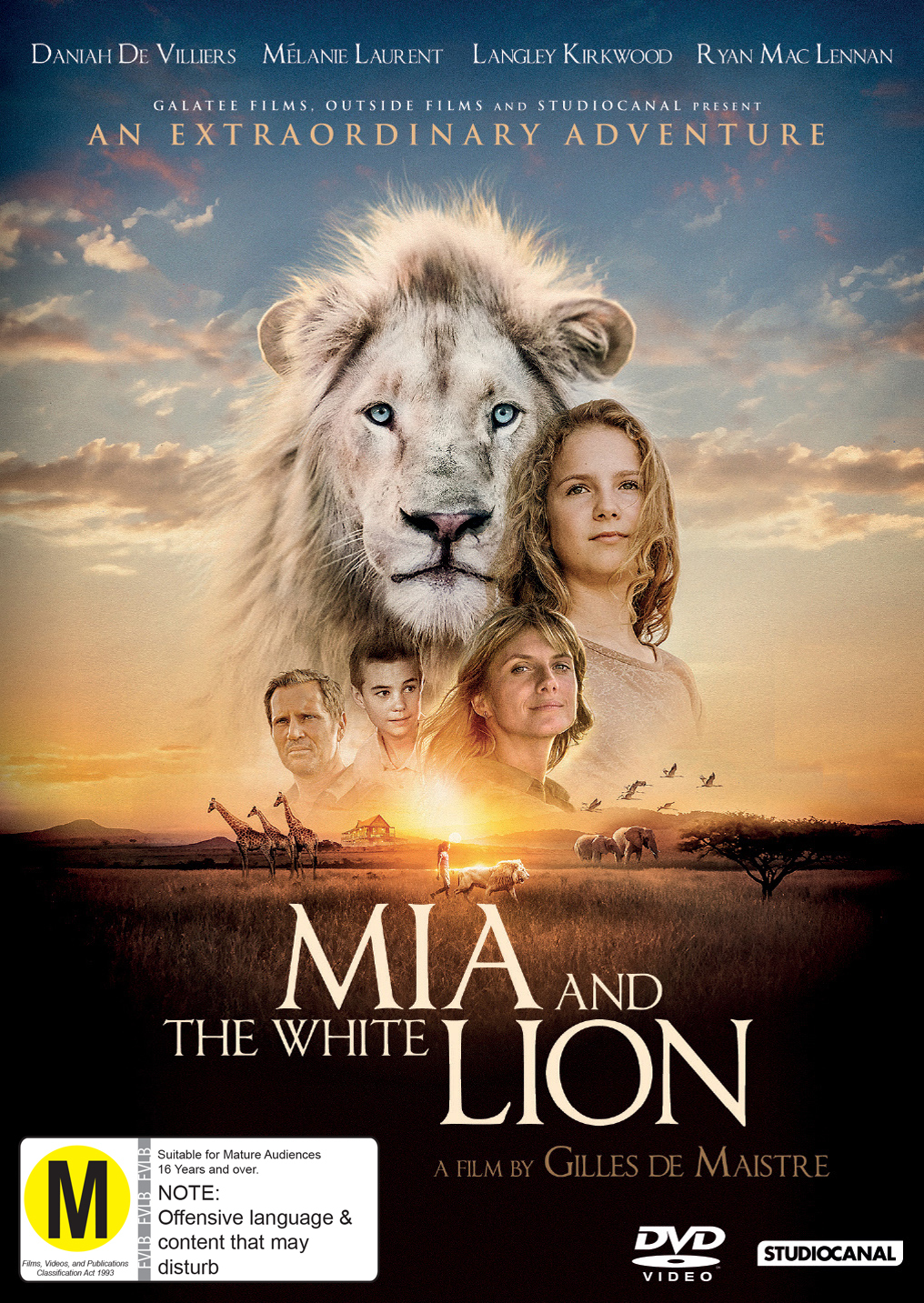 Mia And The White Lion on DVD image