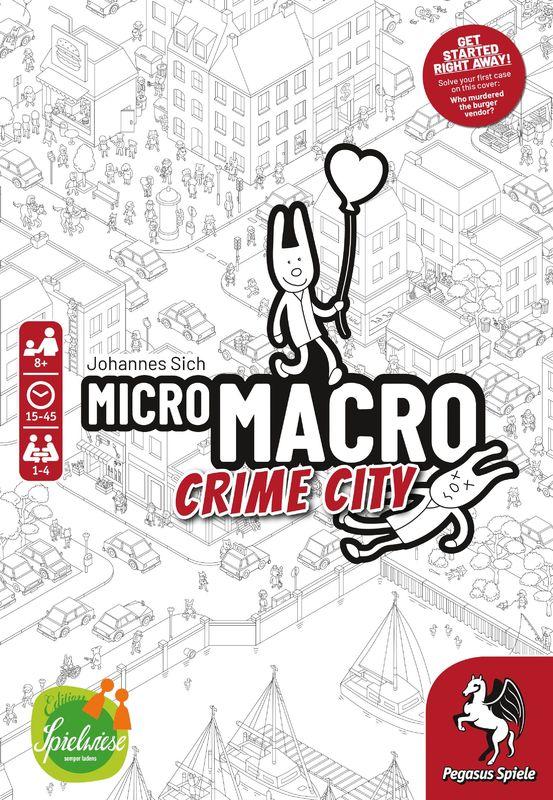 MicroMacro: Crime City - Card Game