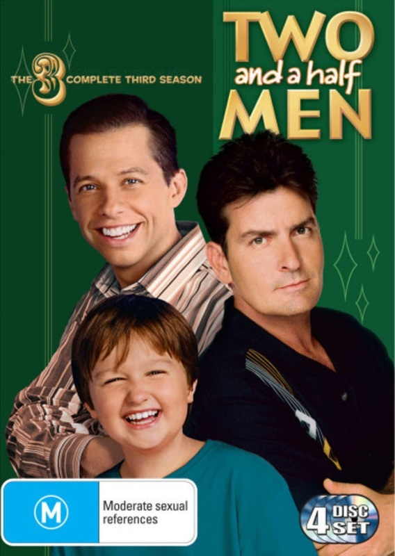 Two And A Half Men - The Complete Third Season (4 Disc Set) on DVD