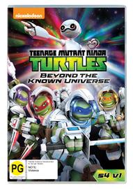 Teenage Mutant Ninja Turtles - Beyond The Known Universe: Season 4 : Vol 1 on DVD
