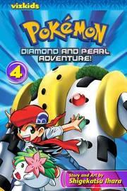 Pokemon Diamond and Pearl Adventure, Volume 4 by Shigekatsu Ihara