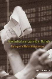 Information and Learning in Markets by Xavier Vives image