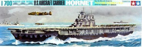 Tamiya 1/700 US Hornet Aircraft Carrier - Model Kit