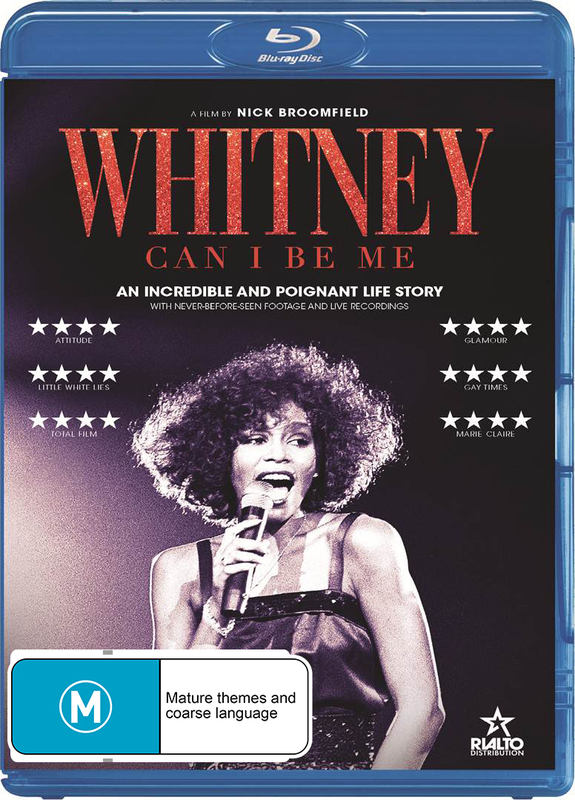 Whitney: Can I Be Me on Blu-ray