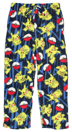 Pokemon: All Over Print - Microfleece Pants - (Small) image
