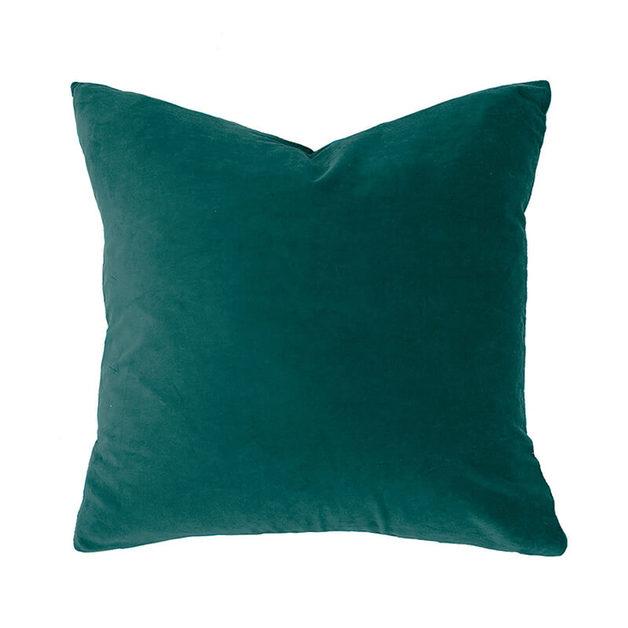 Bambury Lake Velvet Feather Filled Cushion
