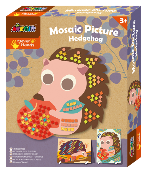 Avenir: Mosaic Picture Kit - Hedgehogs