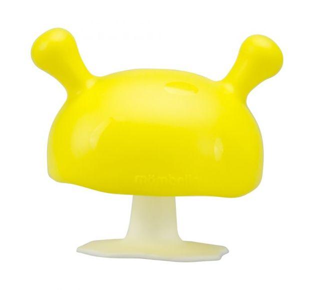 Mombella: Mushroom Soothing Teether - Yellow