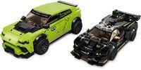 LEGO Speed Champions: Lamborghini Urus ST-X & Lamborghini Huracán Super Trofeo EVO - (76899) image